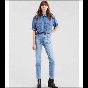 Levi's High Rise Wedgie Fit Women's Jean 31